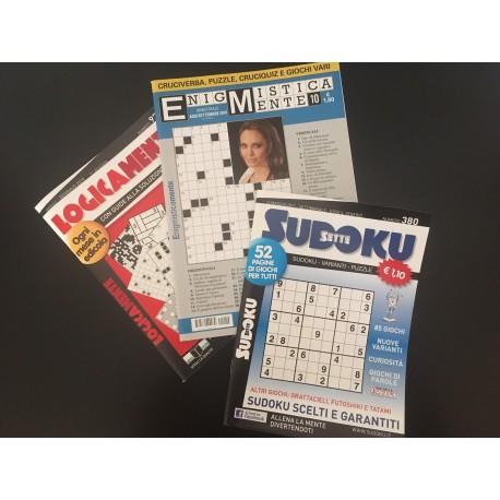 Raccolta 3 riviste